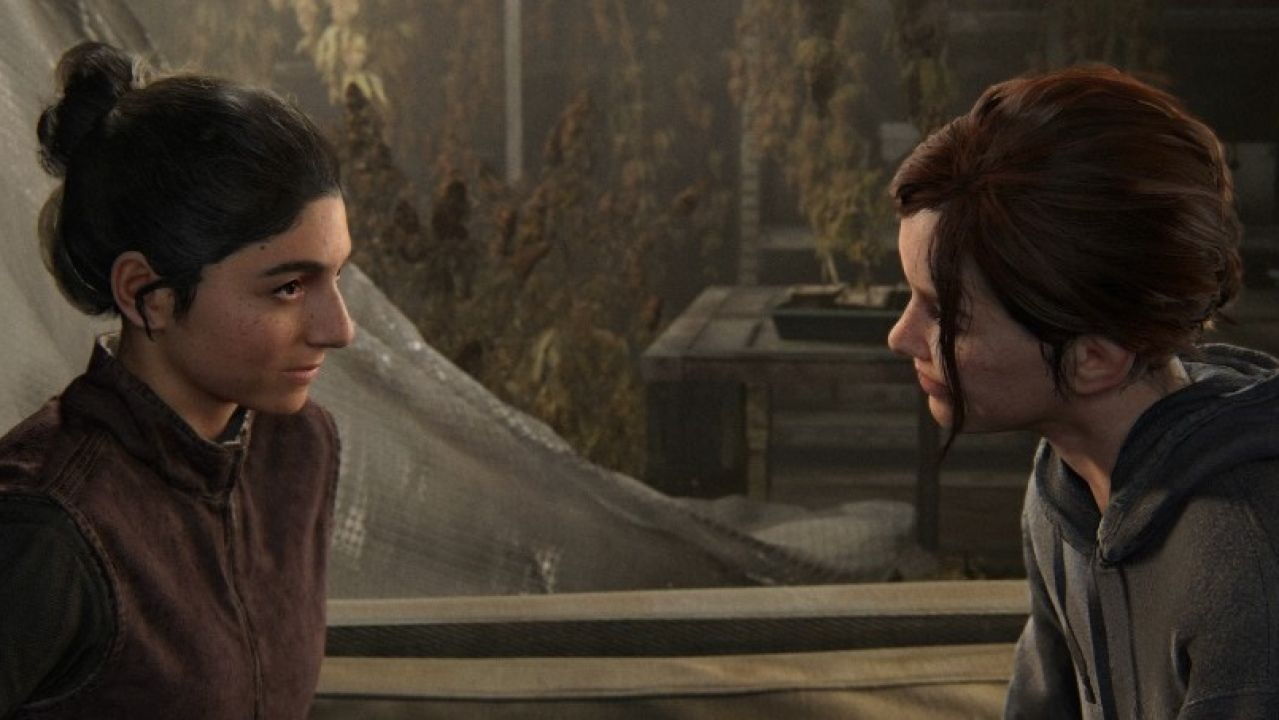 Dina y Ellie, en The Last of Us Parte II