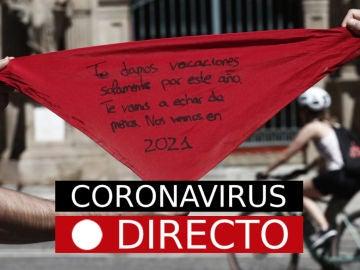 Coronavirus hoy en España y el mundo: Casos y noticias de la vacuna de la covid-19, última hora en directo