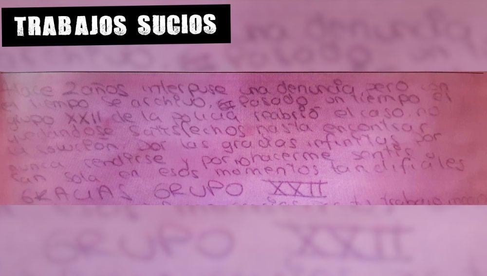 Carta de Erika