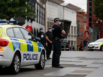 Policía británica