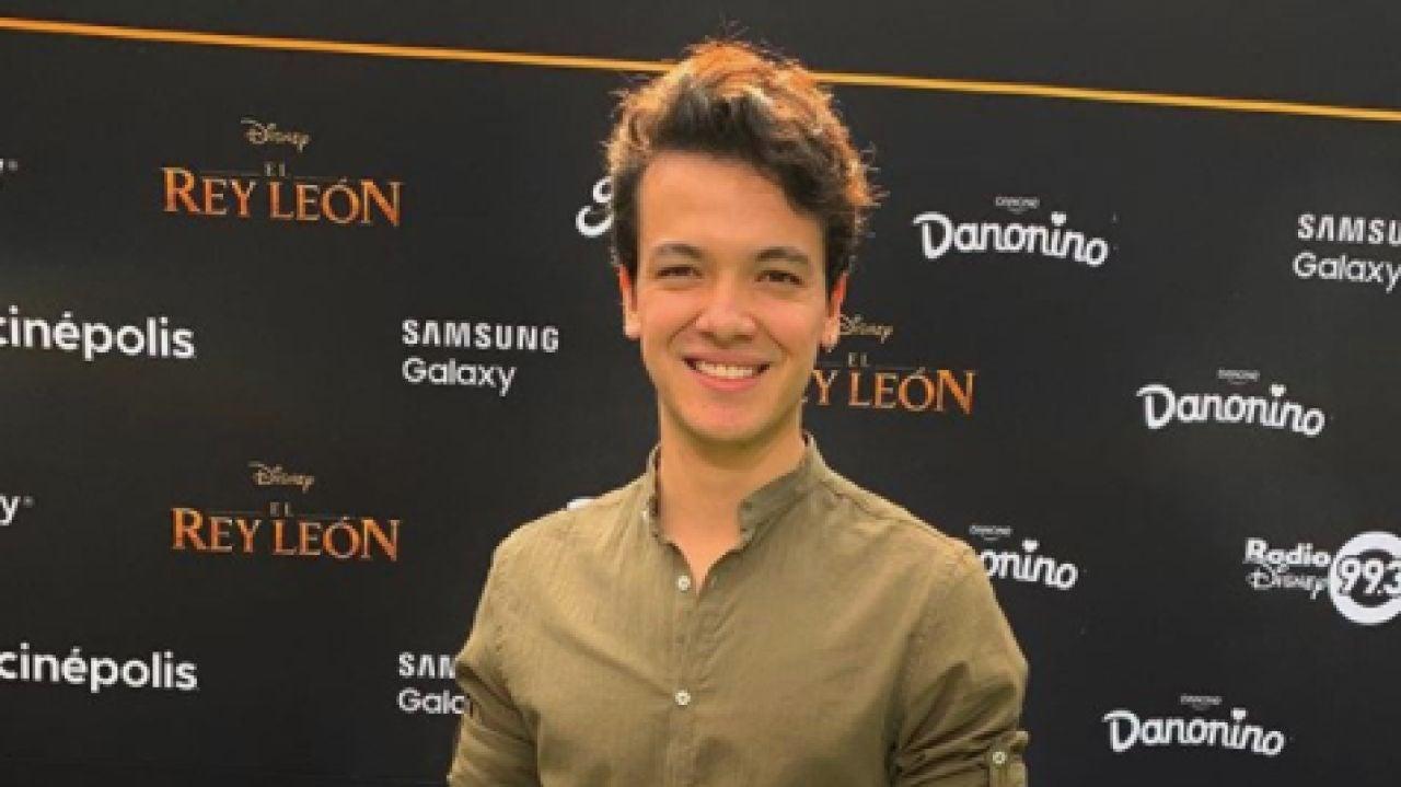 El actor de Disney Channel Sebastian Athié