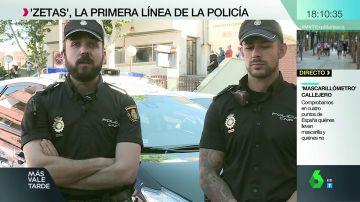 Los 'zetas', la primera línea de la Policía: estas son sus misiones más extremas