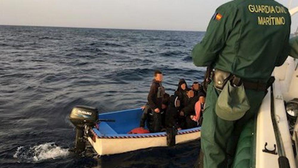 Inmigrantes patera Cartagena