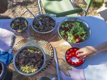 Pícnic en el campo