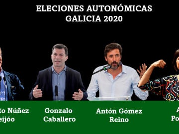 Candidatos a la presidencia de la Xunta de Galicia