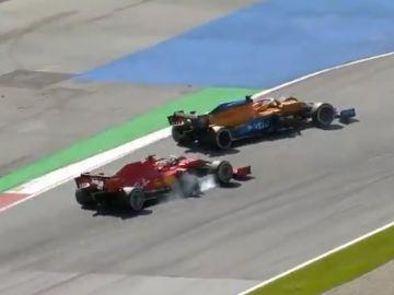 Vettel y Sainz