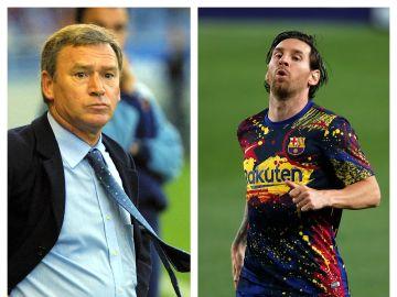 Clemente y Messi