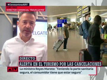El director comercial de TravelgateX, José Díaz