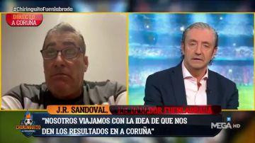"""Sandoval: """"Antes era un cachondeo con las mascarillas, uno de un color, otro la de su madre..."""""""