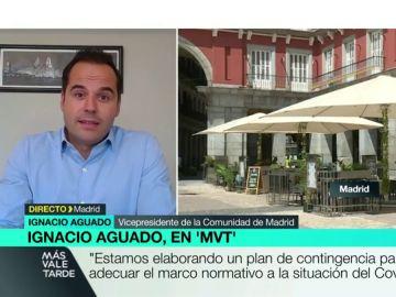 Aguado confirma que Madrid plantea medidas para reducir el ocio nocturno, la movilidad, limitar el aforo en las terrazas y las reuniones familiares