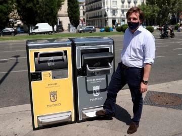 """Así son las nuevas """"papeleras inteligentes"""" de Madrid"""