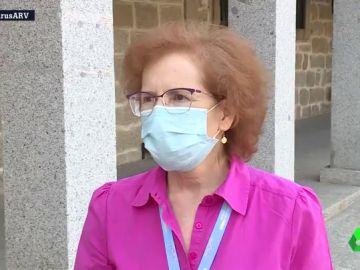 Margarita del Val hablando con laSexta