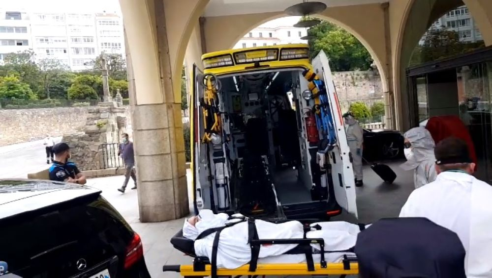 Jugador del Fuenlabrada trasladado al hospital