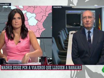 """Javier Marín: """"Las medidas en nuestros aeropuertos cumplen con las recomendaciones de Europa"""""""