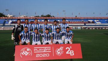 Once del Atlético Baleares en los playoff