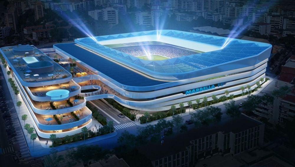 Nuevo estadio del Marbella FC