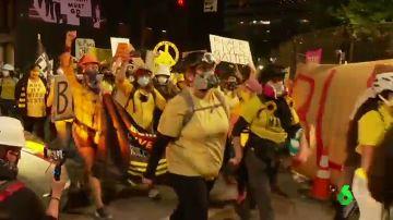 Manifestaciones del movimiento 'Black Live Matters' en EEUU