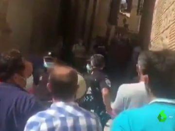 Delegación Gobierno ordena identificar a las personas que increparon a Yolanda Díaz en Toledo