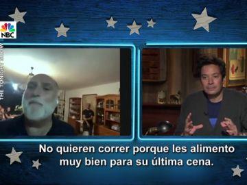 José Andrés y Jimmy Fallon