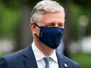 El asesor de seguridad nacional de la Casa Blanca, Robert O'Brien