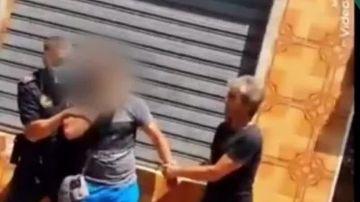 Detienen a un hombre que abrió la cabeza con un plato a su expareja en un bar en Chella