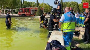 Captura del vídeo facilitado por los servicios de emergencias.