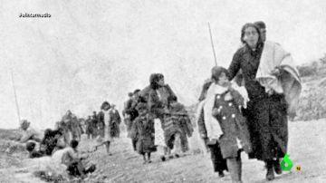 """Los supervivientes de 'La Desbandá' recuerdan uno de los episodios más silenciados de la Guerra Civil: """"Fue una carnicería"""""""