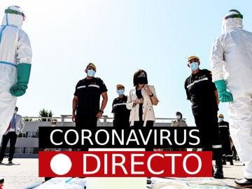 oronavirus España hoy: Noticias de última hora, nuevos casos y rebrotes, en directo