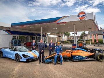 Acuerdo entre McLaren y Gulf