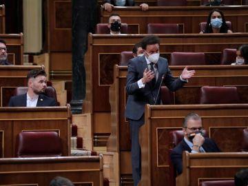 El portavoz de Ciudadanos, Edmundo Bal, en el Congreso de los Diputados