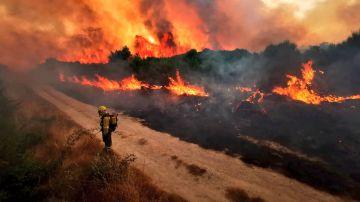 Incendio en Cualedro