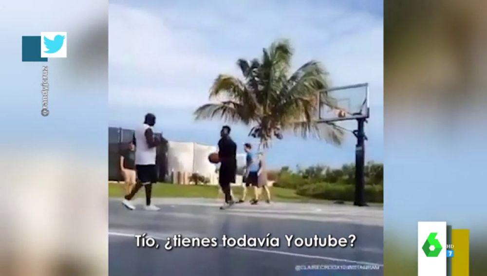 """El 'In your face' de Michael Jordan a los 57 años con dedicatoria final: """"Búscame en Youtube"""""""