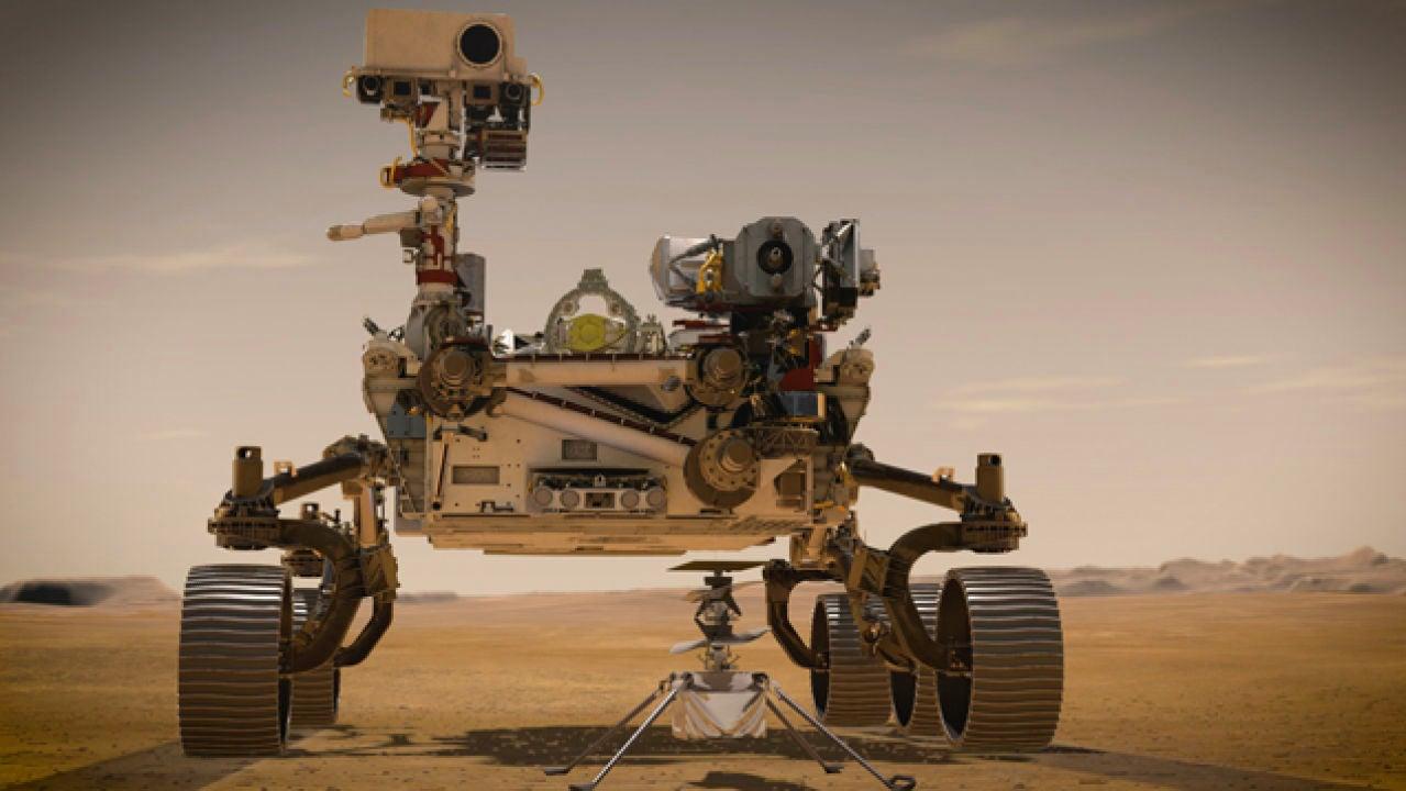 Con cerebro y 23 ojos: así es Perseverance, el robot que la NASA envía a Marte