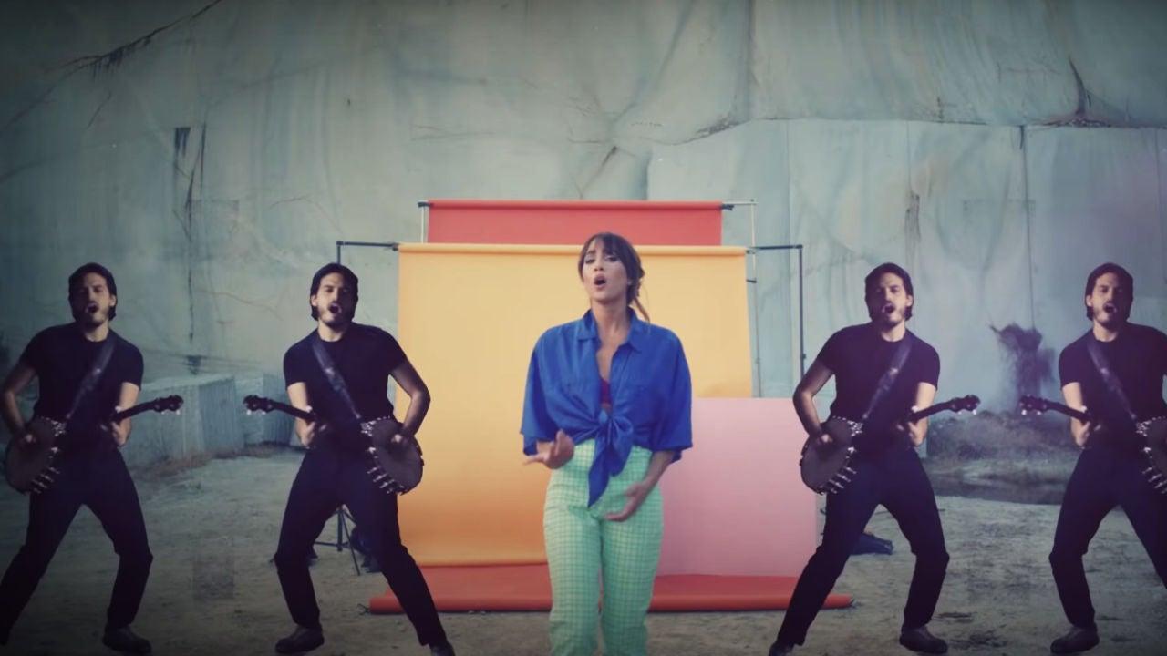 Aitana y Morat presentan su nueva canción 'Más de lo que aposté'