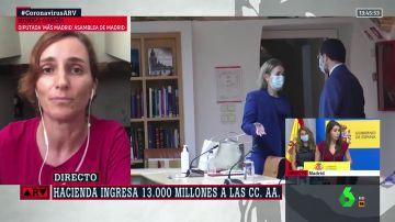 """Mas Madrid afirma que el Gobierno de Ayuso """"no está preparado para gobiernar en la pandemia"""": """"No hay una cosa que haya hecho bien"""""""
