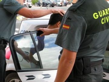 Intervención de la Guardia Civil