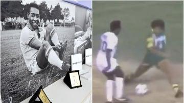 Pelé, en Santos