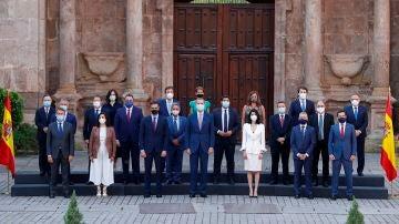 Foto de familia en la Conferencia de Presidentes
