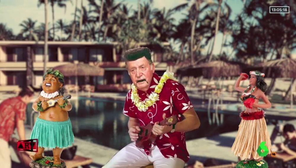 """El 'hit' del rey Juan Carlos a lo Elvis: """"No seas así Corinna, ven hacia mí"""""""