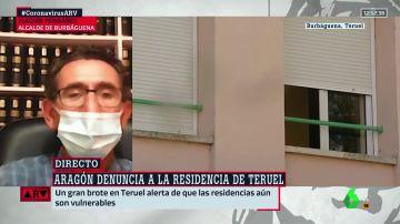 El alcalde de Burbáguena afirma que el rebrote en la residencia está controlado e insiste en que no había casos hasta ahora