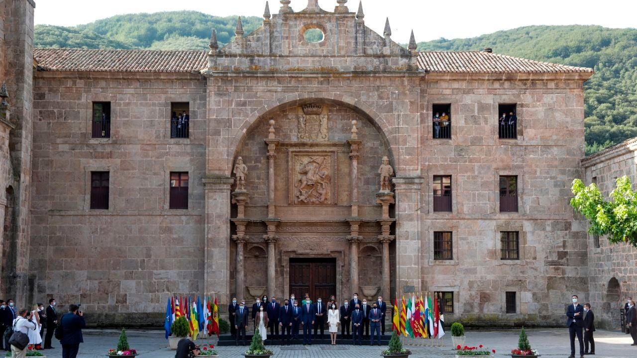 Así es San Millán de la Cogolla: de cuna del castellano a sede de la Conferencia de Presidentes