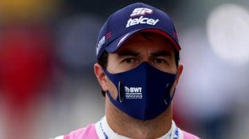 Sergio Pérez, primer piloto de Fórmula 1 que da positivo por coronavirus, no correrá el GP de Gran Bretaña