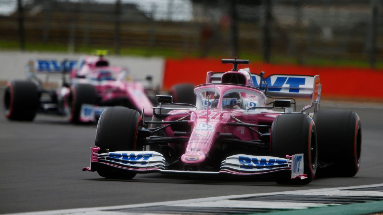 Racing Point GP Gran Bretaña 2020 Quali
