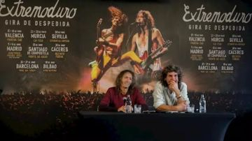 Roberto Iniesta e Iñaki 'Uoho' Antón de Extremoduro (Archivo)