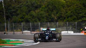 Lewis Hamilton GP Gran Bretaña 2020 Quali