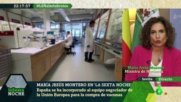 María Jesús Montero en laSexta Noche