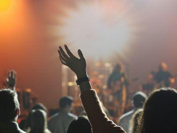Imagen de archivo de un concierto