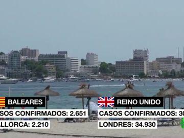 """Preocupación y miedo en el sector turístico de Baleares ante el veto de Boris Johnson: """"La temporada está perdida"""""""