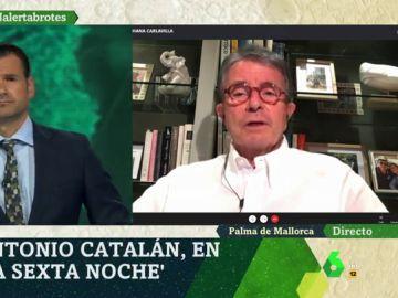 Antonio Catalán en laSexta Noche