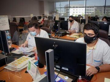 Imagen de archivo: rastreadores de coronavirus